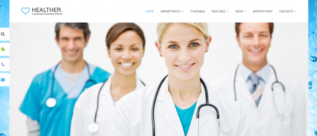 Medical WordPress Themes 2017
