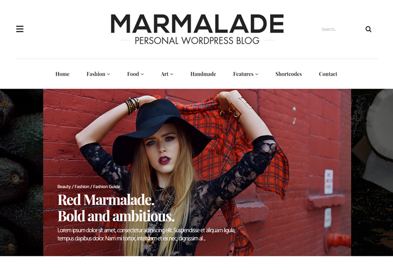 WordPress themes for blogs and business