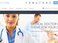 WP Themes for doctors.