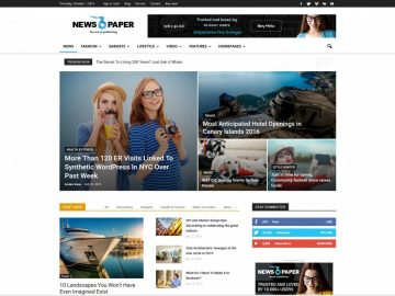 MyThemeShop Newspaper WordPress