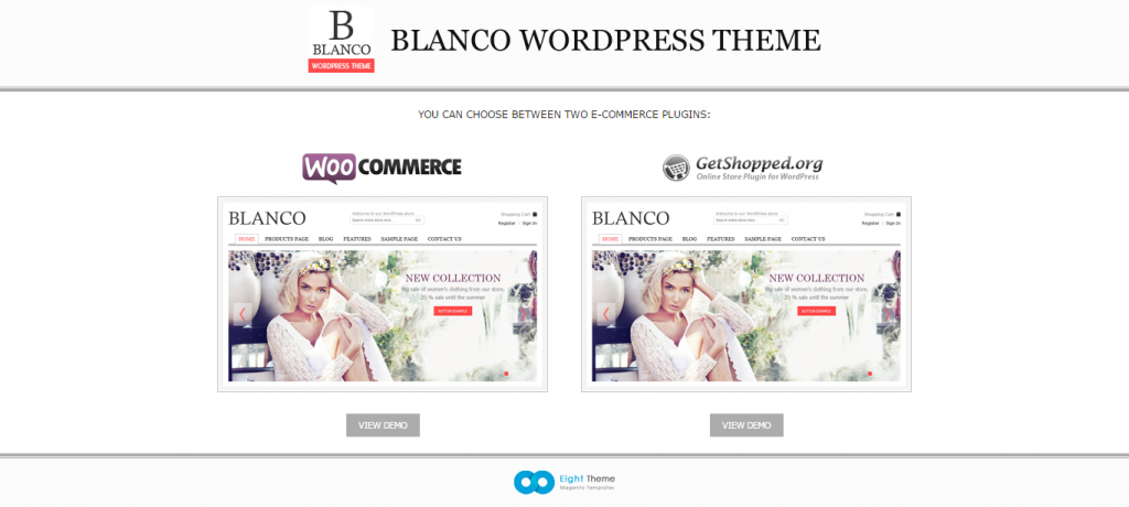 Responsive WordPress Woo/E-Commerce Theme